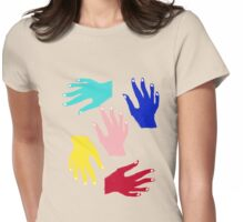 HANDS TEE/BABY GROW Womens Fitted T-Shirt