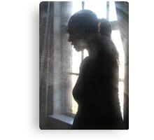 woman...window... Canvas Print
