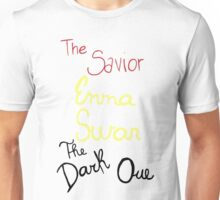 Two sides of Emma Swan Unisex T-Shirt