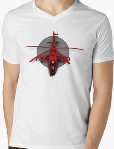 GunShip Mens V-Neck T-Shirt