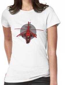 GunShip Womens Fitted T-Shirt