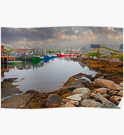 PEGGYS COVE Poster
