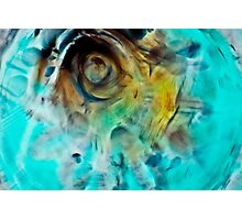 Water and Oil Abstract 1 Photographic Print