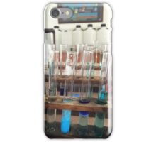 Test Tubes in the Lab iPhone Case/Skin