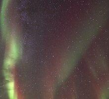 Aurora Borealis  & Milky way by Frank Olsen