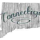 Connecticut State Typography by surgedesigns