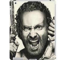 Rick Is Mad... iPad Case/Skin