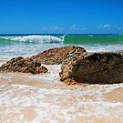 Home Beach North Stradbroke Island Australia by Beth  Wode