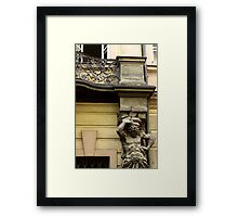 """I'm too sexy for my porch ..."" Framed Print"