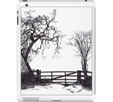Tree and Gate iPad Case/Skin
