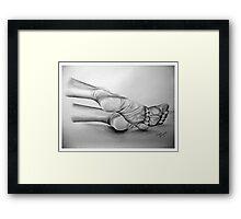 My Lady's Feet 2 Framed Print