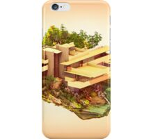 Architecture - Frank Lloyd Wright - Falling Water iPhone Case/Skin