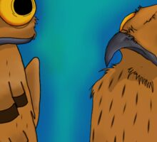 Potoo Birds BFF Sticker
