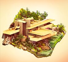 Architecture - Frank Lloyd Wright - Falling Water by Neil Stratford