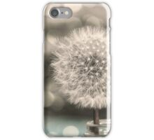 Dandelion in a Jar iPhone Case/Skin