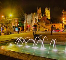 York The Walled City - HDR by Colin  Williams Photography