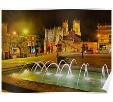 York The Walled City - HDR Poster