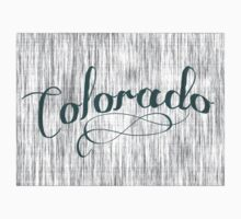 Colorado State Typography One Piece - Short Sleeve