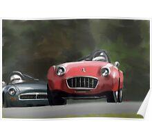 Triumph vs. MG Poster