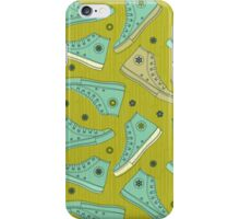 Doodle Ked Shoes iPhone Case/Skin