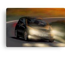 VW Golf MK6 Canvas Print