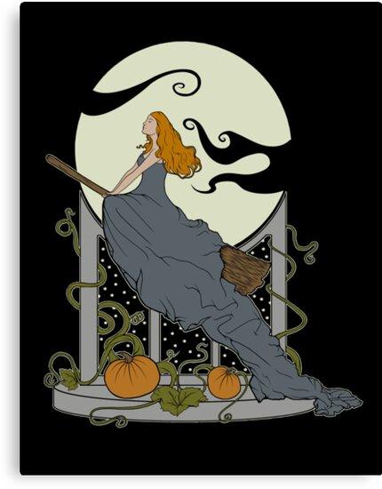 Halloween Nouveau by perdita00