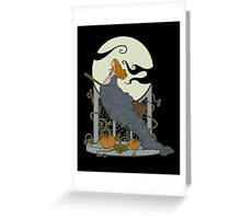 Halloween Nouveau Greeting Card