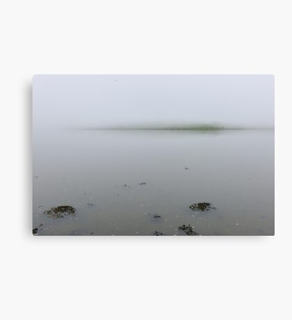 The fog descends; Courtmacsherry, West Cork, Ireland Canvas Print