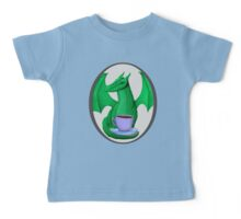 Green Dragon with Tea Baby Tee
