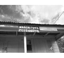 March Town Post Office Photographic Print
