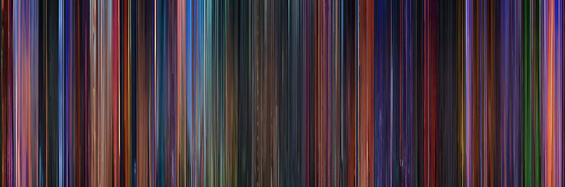 Moviebarcode: Hercules (1997) by moviebarcode