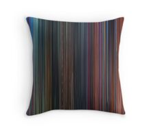 Moviebarcode: Hercules (1997) Throw Pillow