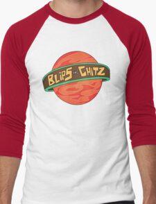 Rick & Morty - Blips and Chitz Men's Baseball ¾ T-Shirt