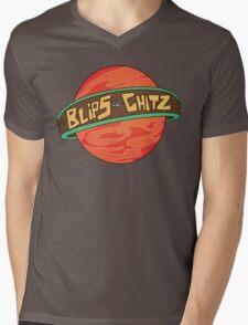 Rick & Morty - Blips and Chitz Mens V-Neck T-Shirt
