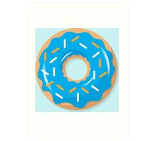 Blue Sprinkles Art Print