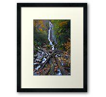 Mingot Falls in Cherokee Framed Print