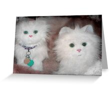 Snow Drop and Snow Puff ...aren't we adorable!!! © Greeting Card