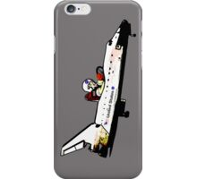 Go, Going, Gone! Space Shuttle! iPhone Case/Skin
