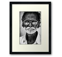 Street Portrait VI Framed Print