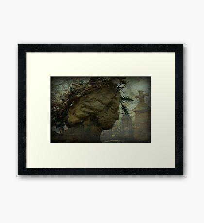 Old Ghost Framed Print