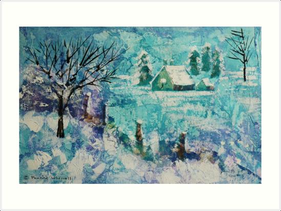 Snow scene 2 by © Pauline Wherrell