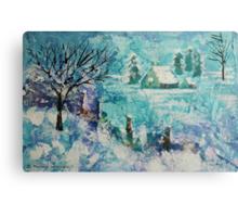 Snow scene 2 Metal Print