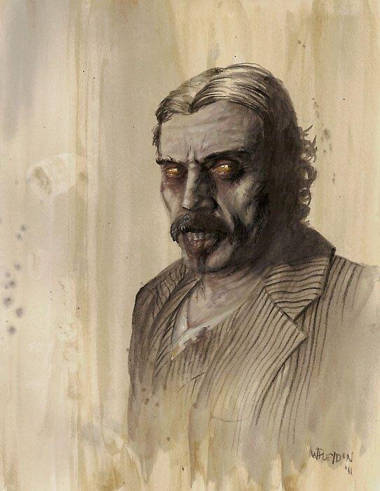 Zombie Al Swearengen by Will Pleydon