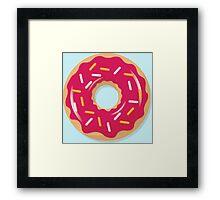 Pink Sprinkles Framed Print