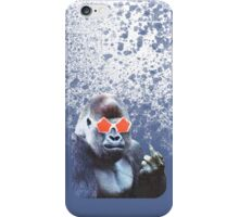 Gorilla middlefinger Street Art iPhone Case/Skin
