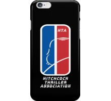 Hitchcock Thriller Association H.T.A logo iPhone Case/Skin