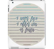 Never Lose iPad Case/Skin
