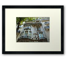 Built in 1904 by Jules Lavirotte Framed Print
