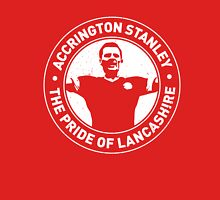 Pride Of Lancashire - Worn Effect Unisex T-Shirt