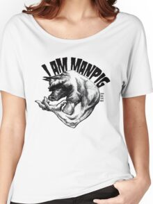 I AM MANPIG Women's Relaxed Fit T-Shirt